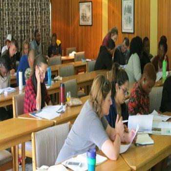 Dr Jaco Barendse hosts sustainable fisheries & certification training workshop.